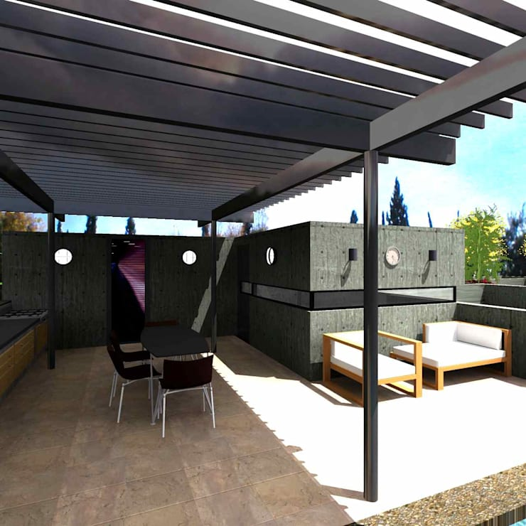 Casa Gonzalez: Casas de estilo  por Atelier X