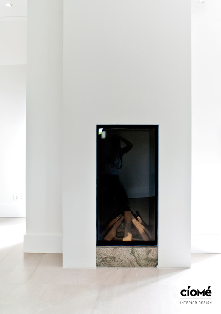 Private residence:  Woonkamer door CioMé