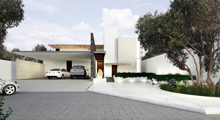 Rumah Modern Oleh OTRA ARQUITECTURA Modern