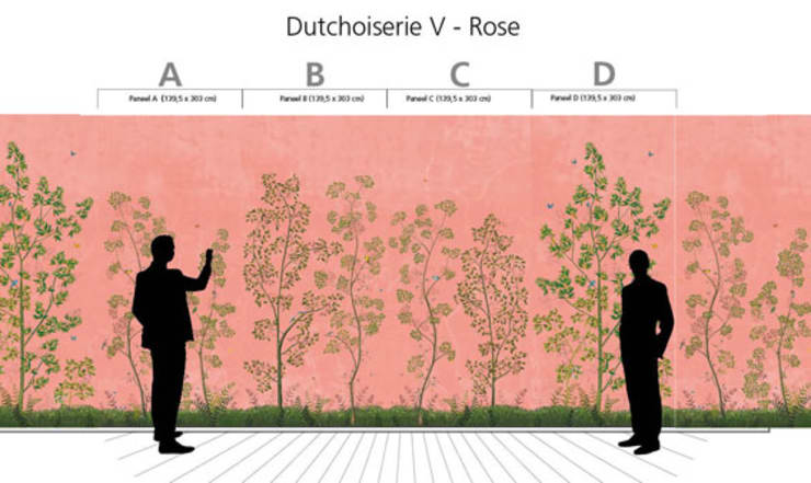 Dutchoiserie V:  Woonkamer door Snijder&CO