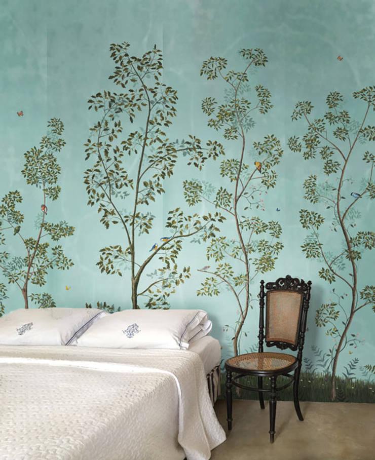 Bedroom - Dutchoiserie V:  Slaapkamer door Snijder&CO