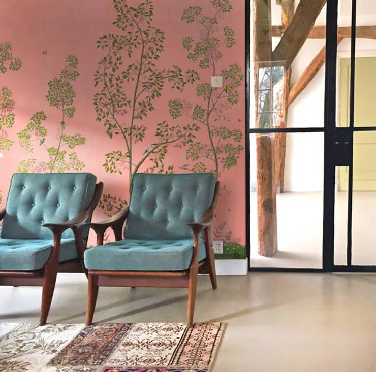 Livingroom - Dutchoiserie V:  Woonkamer door Snijder&CO