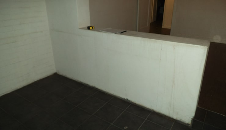 Before Right Hand Side Divide. :   by Boss Custom Kitchens (PTY)LTD