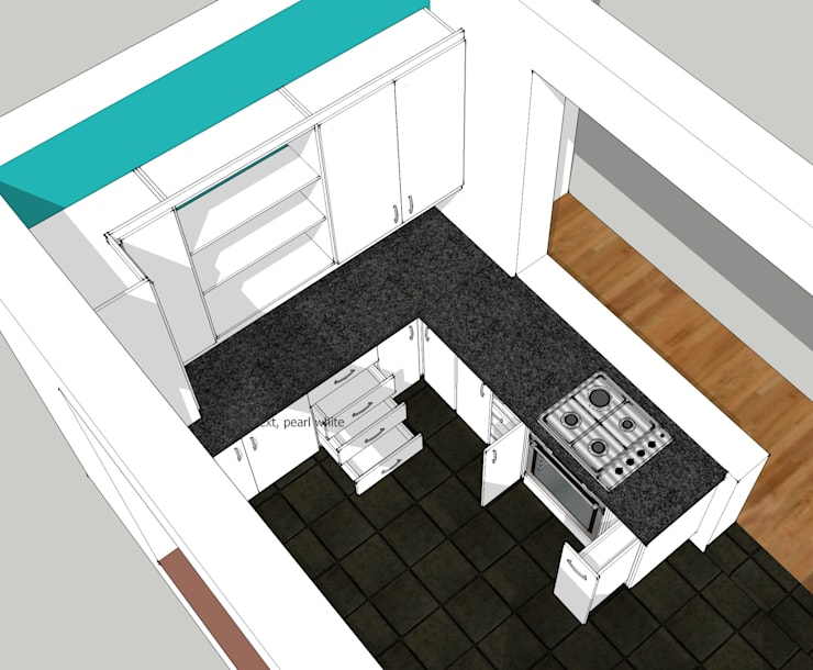 Design Storage and Processing Area:   by Boss Custom Kitchens (PTY)LTD