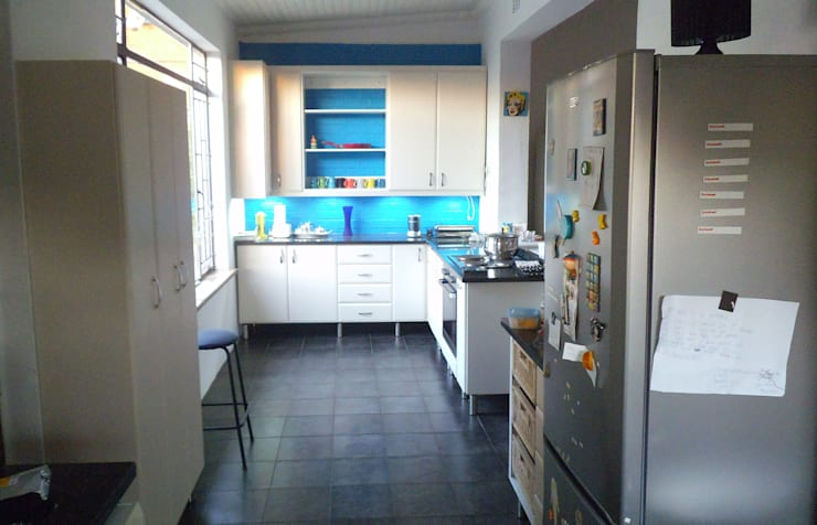Right Hand Side Far View:   by Boss Custom Kitchens (PTY)LTD