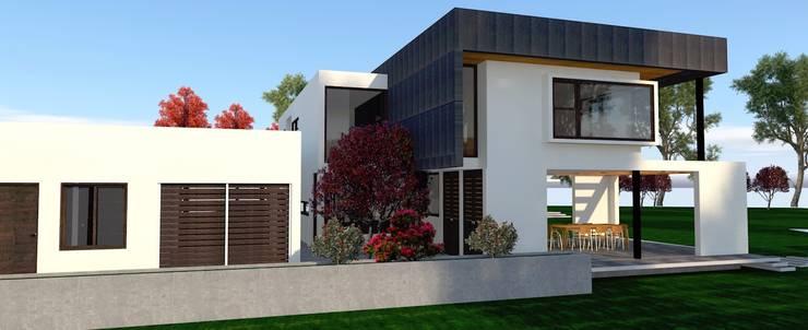 Casas de estilo  por ARQvision Sustainable Architecture / FASTSTEEL