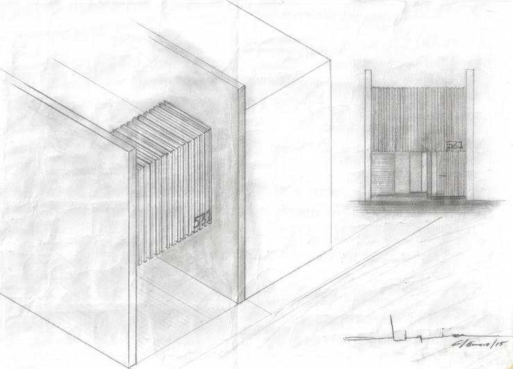 CASA CUBE:  de estilo  por lab d arquitectura