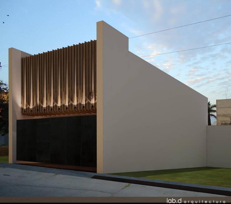 Casas de estilo  de lab d arquitectura