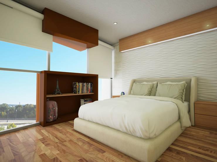 Remacara tipo Casas minimalistas de PRISMA ARQUITECTOS Minimalista Concreto