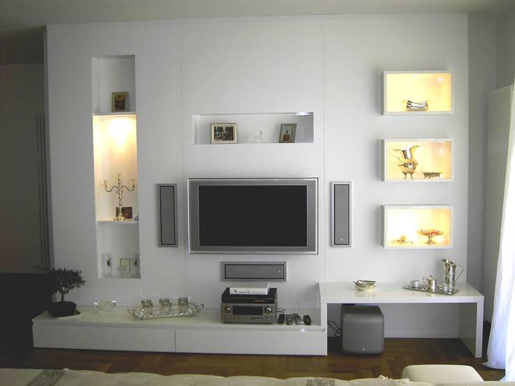 غرفة المعيشة تنفيذ DS ARREDI IN LEGNO