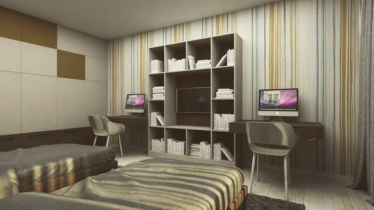 Nursery/kid's room by Polka architecture studio