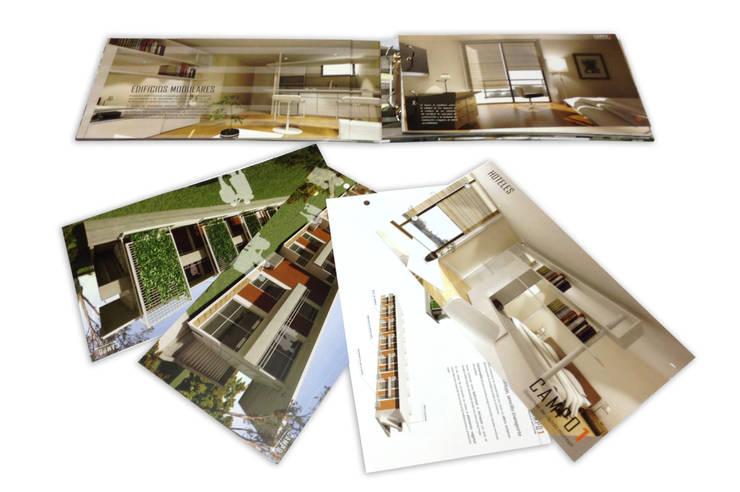 Brochure de proyecto a construir: Arte de estilo  por Katherine Aguilar