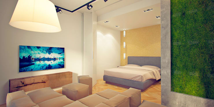 Camera da letto in stile  di Indika-art