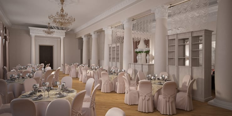 Sala da pranzo in stile classico di Indika-art Classico