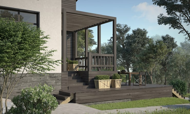 Maisons scandinaves par Studio of Architecture and Design 'St.art' Scandinave