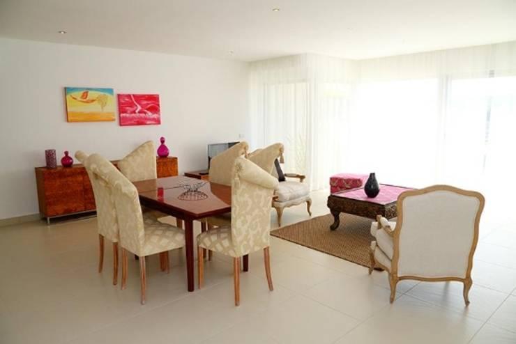 Villas Rocha 3: Salas de jantar  por Atelier  Ana Leonor Rocha