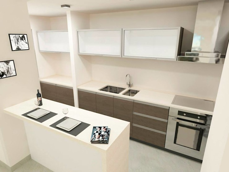 Kitchen by BIANCHI ARQUITECTURA INTERIOR