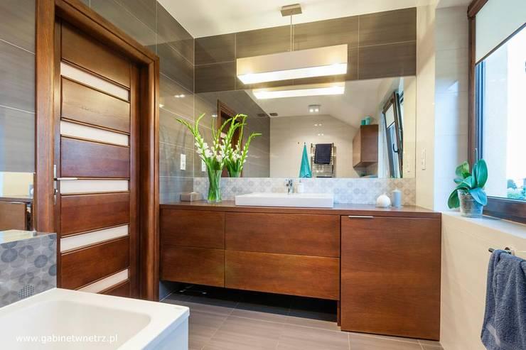 Ванные комнаты в . Автор – Gabinet Wnętrz