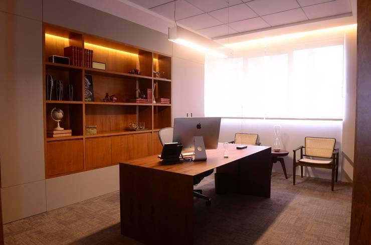 อาคารสำนักงาน โดย Elisa Vasconcelos Arquitetura  Interiores, โมเดิร์น