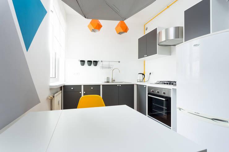 مطبخ تنفيذ Kraupe Studio