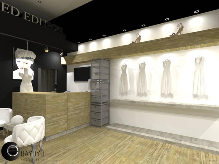 Boutique Limited Edition: Tiendas y espacios comerciales de estilo  por Cup Studio