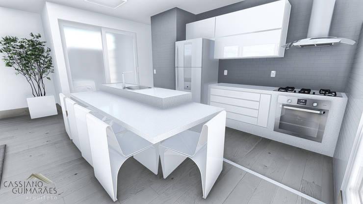 Cocinas de estilo minimalista por Cassiano Guimarães - arquiteto
