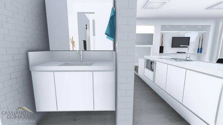 LAVATÓRIO: Banheiros  por Cassiano Guimarães - arquiteto
