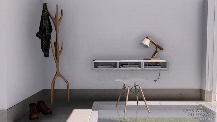 minimalistic Bedroom by Cassiano Guimarães - arquiteto