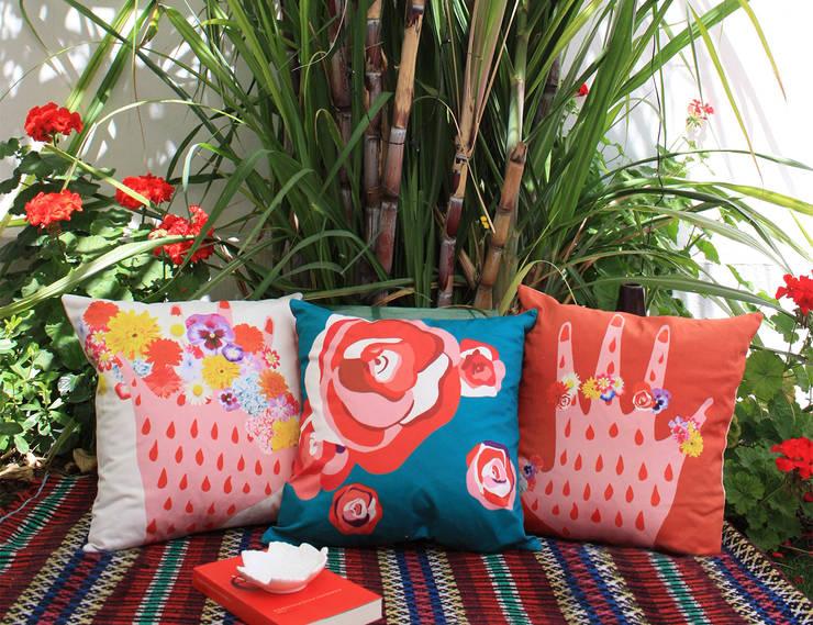 Almofadas Flora : Casa  por My Friend Paco