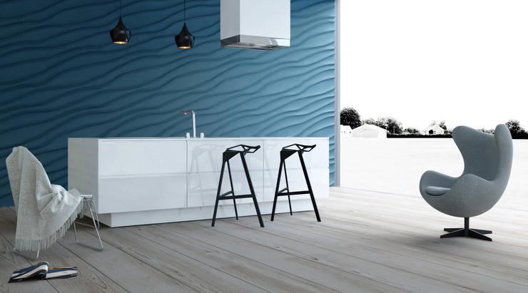 Cocinas de estilo moderno por Artpanel 3D Wall Panels
