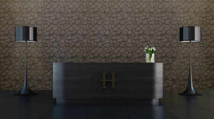 Paredes y pisos de estilo topical por Artpanel 3D Wall Panels