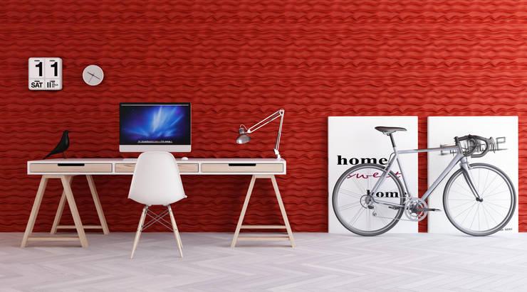 Estudios y oficinas de estilo moderno por Artpanel 3D Wall Panels