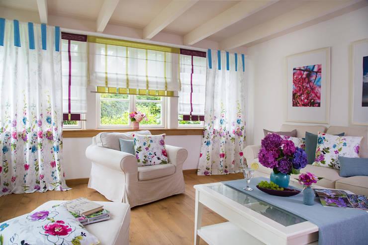 غرفة المعيشة تنفيذ Indes Fuggerhaus Textil GmbH