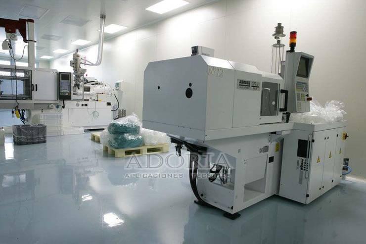 Pisos Industriales de Adoria Aplicaciones Técnicas Industrial