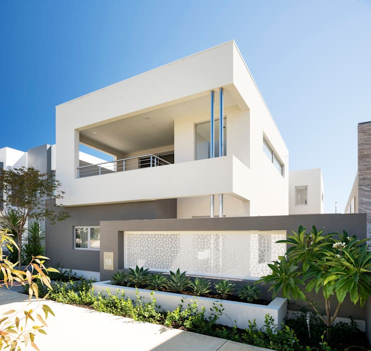 modern Houses by Moda Interiors