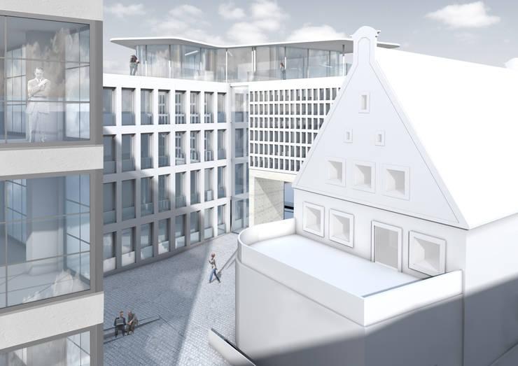 Maisons de style  par brandt+simon architekten, Moderne