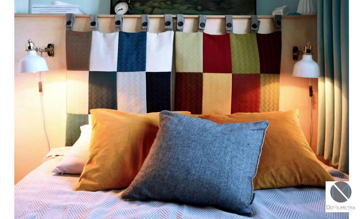 Wezgłowie łóżka: styl , w kategorii Sypialnia zaprojektowany przez DoMilimetra