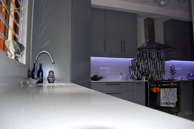Project : Jackson:  Kitchen by Capital Kitchens cc