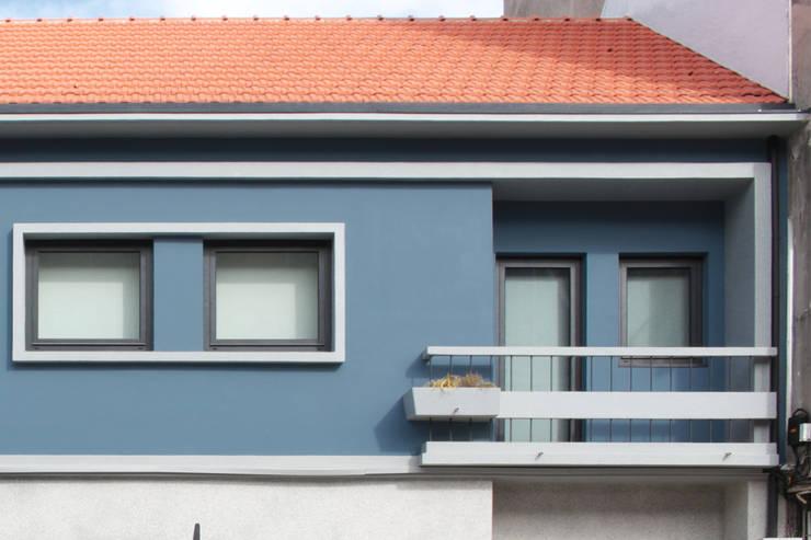 Casa rua Castro Matoso: Casas  por Sónia Cruz - Arquitectura
