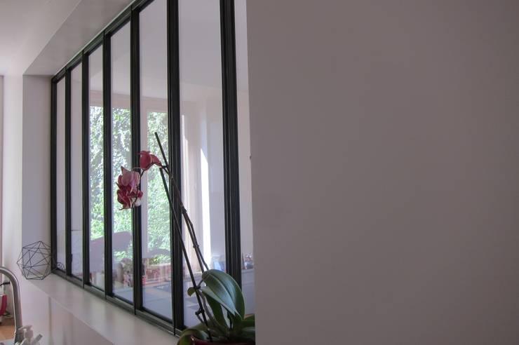 verrière et rampe d\'escalier by ox-idee | homify