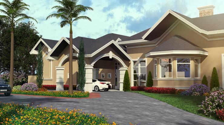 Casas de estilo  por Éfeso Arquitetura & Construção