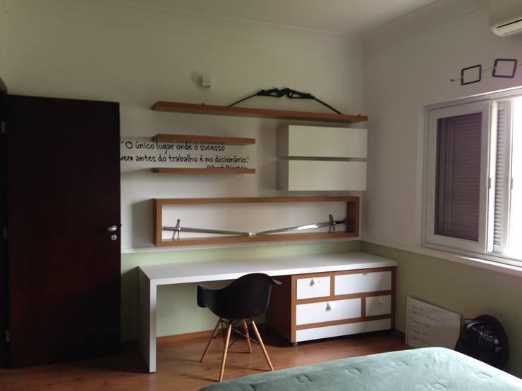 Projekty,  Sypialnia zaprojektowane przez By CA