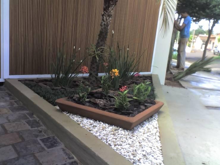 Сады в . Автор – Borges Arquitetura & Paisagismo
