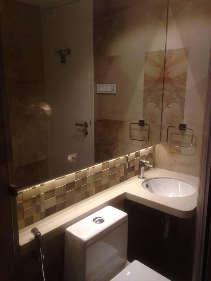 Guest bathroom : minimalistic Bathroom by Arctistic design group
