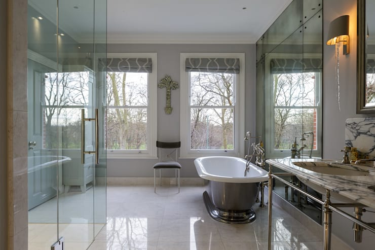 Chevening Road, London, NW6: modern Bathroom by GPAD Architecture & Interior Design