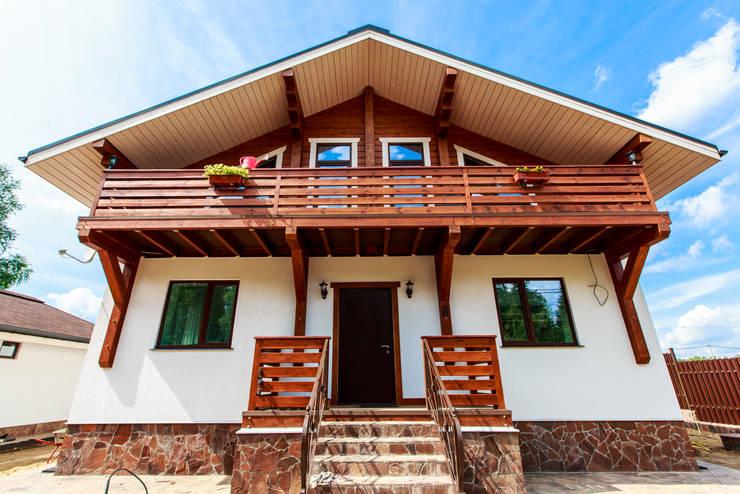 Projekty,  Domy zaprojektowane przez GOOD WOOD