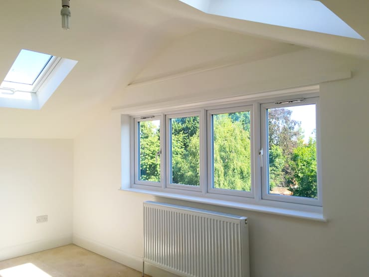 Loft Windows and Roof Lights - As Built:   by Arc 3 Architects & Chartered Surveyors