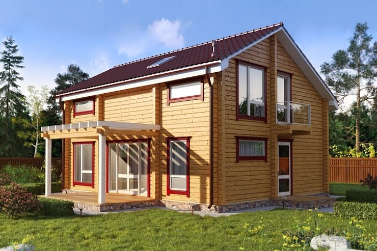 moderne Huizen door GOOD WOOD