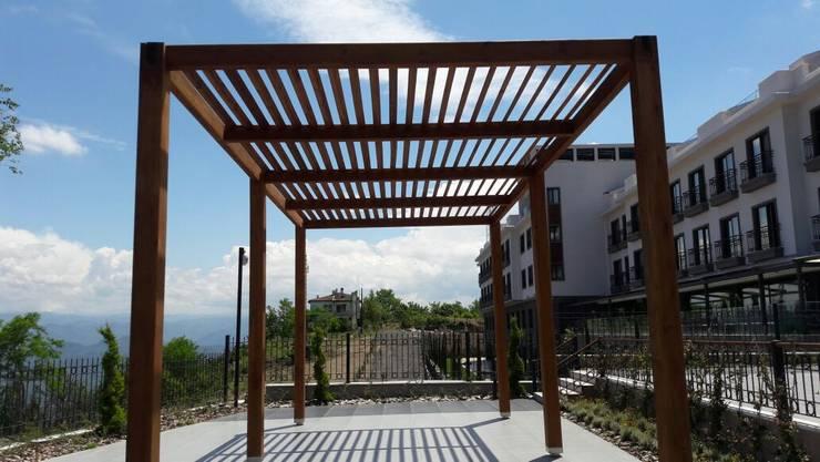 Gürsoy Kerestecilik – Boztepe RADİSSON BLU HOTEL :  tarz , Akdeniz Ahşap Ahşap rengi
