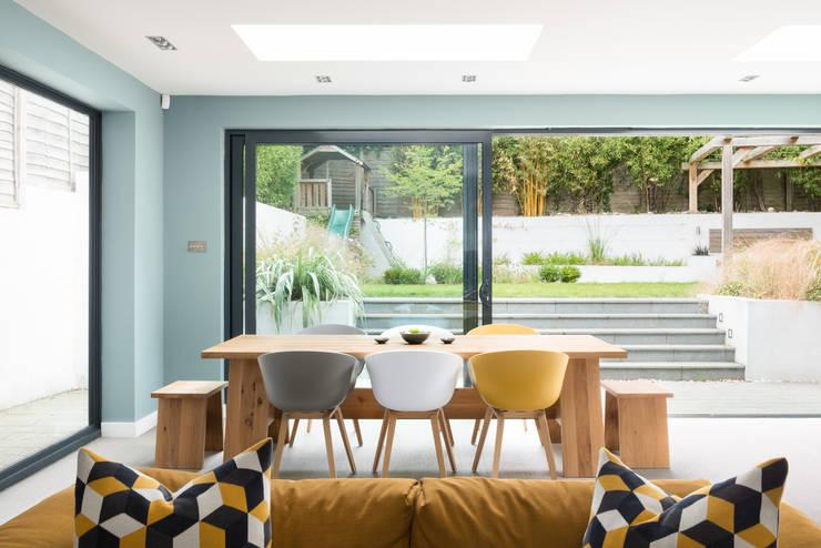 Dining Room Comedores de estilo moderno de SWM Interiors & Sourcing Ltd Moderno